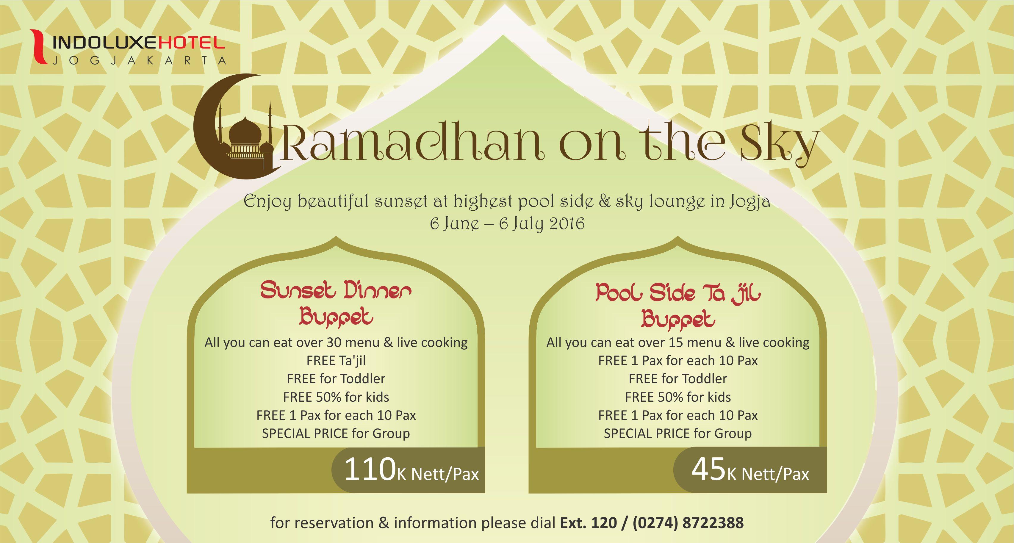 Ramadhan package 1