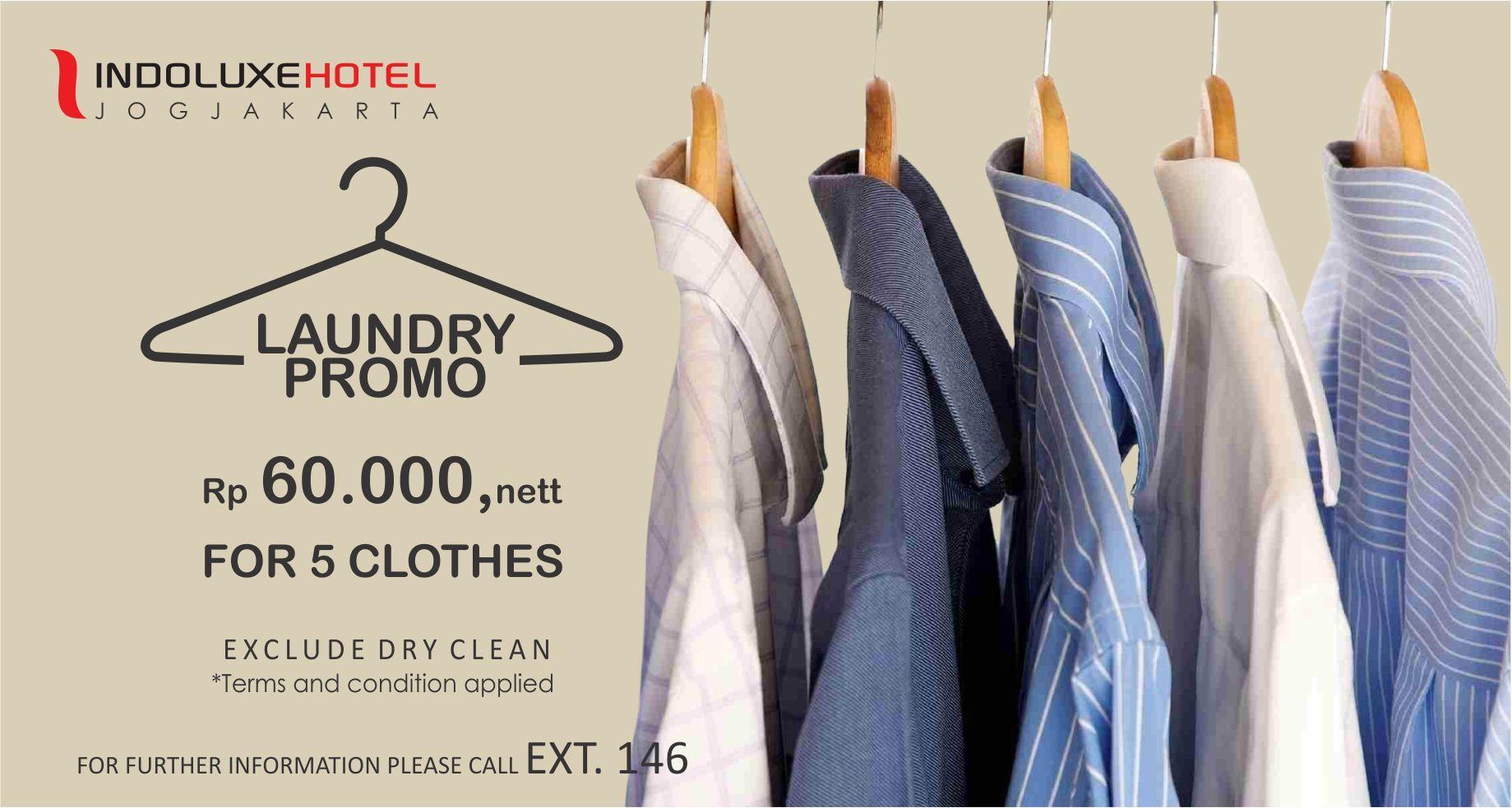 promo Maret april laundry