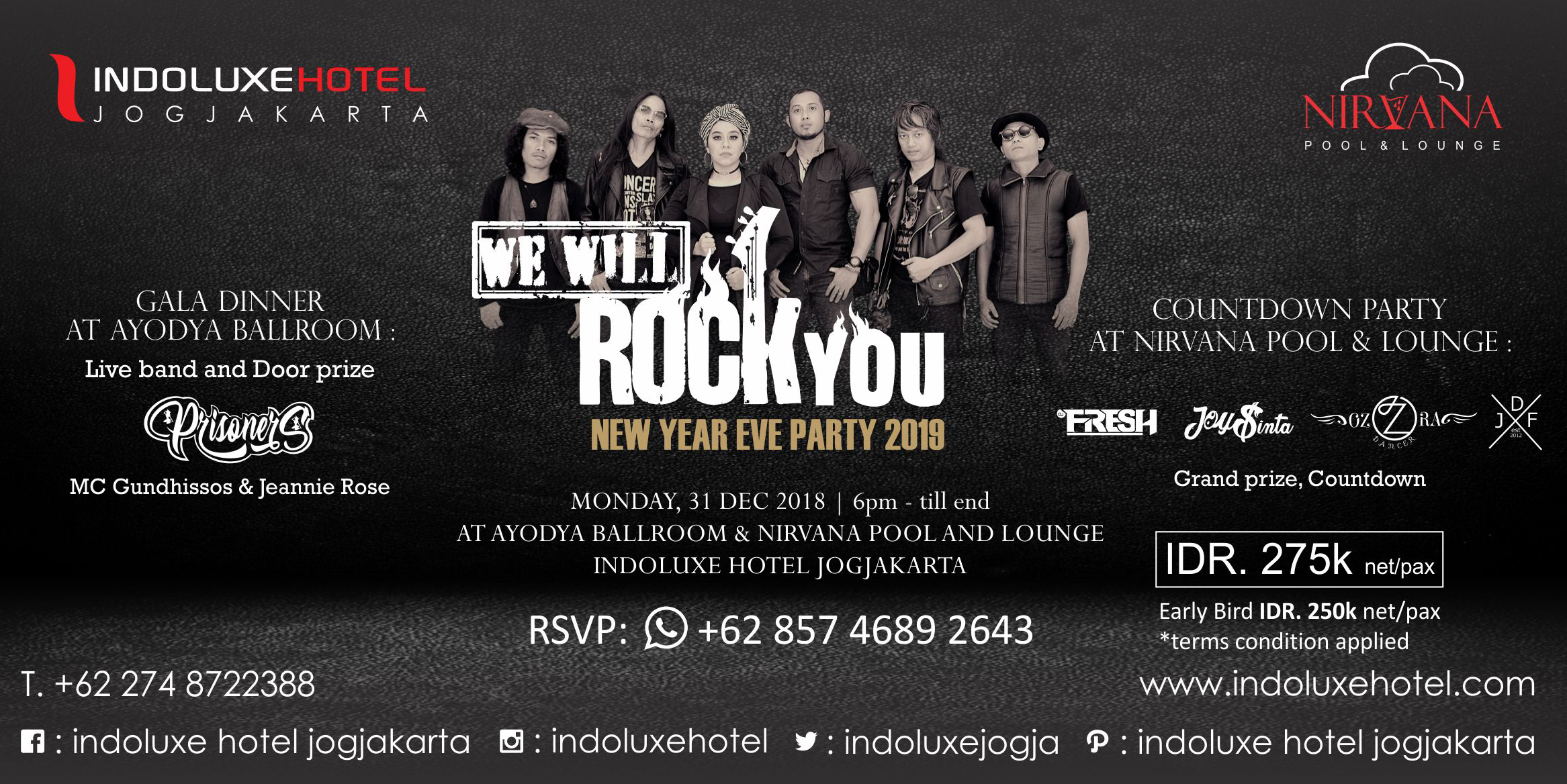 Billboard WE WILL ROCK YOU