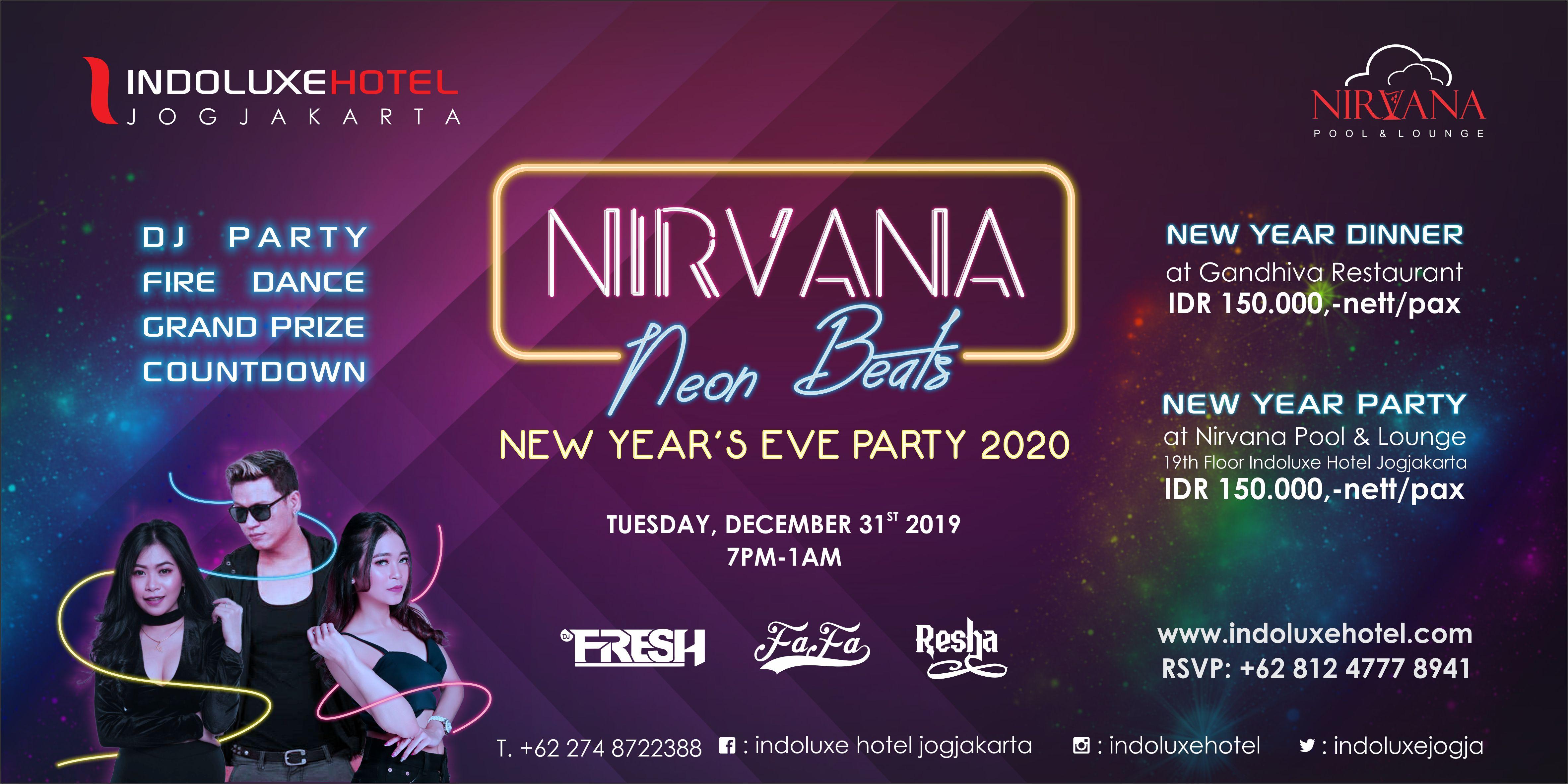 Nirvana Neon Beats Billboard PREVIEW